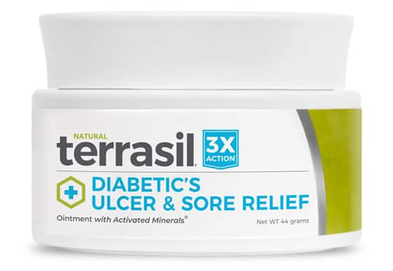 terrasil diabetic ulcer and sore relief