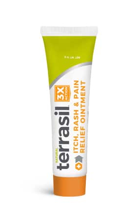 terrasil itch, rash and pain relief